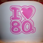 I love 80's airbrush on chair
