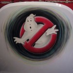 Ghostbusters airbrush on chair