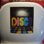 Disco airbrush on chair